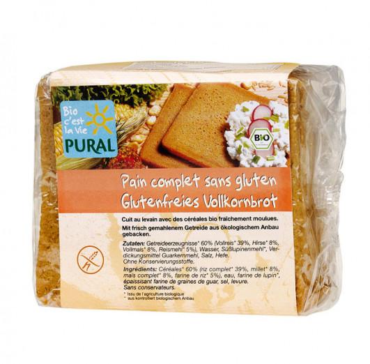 Glutenfreies Vollkornbrot