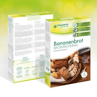 Backmischung Bananenbrot