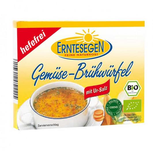 Gemüse-Brühwürfel hefefrei