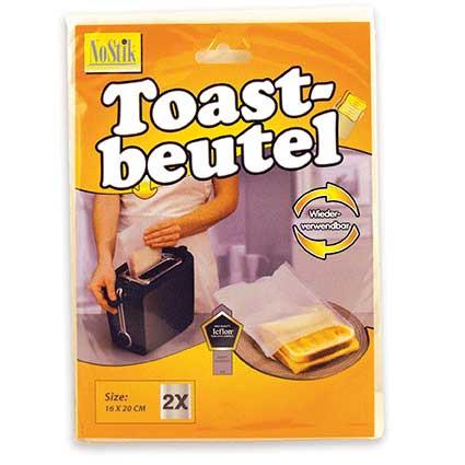 Toastbeutel 2 Stück wiederverwendbar