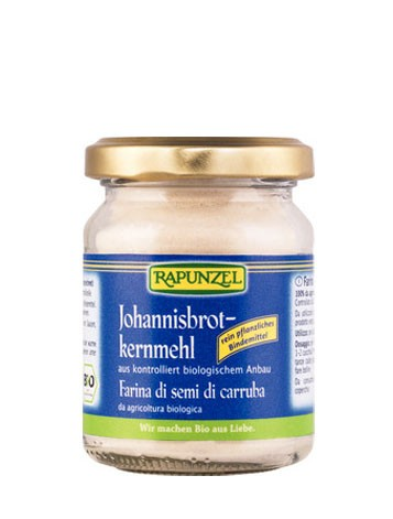 Johannisbrotkernmehl (Bindemittel)