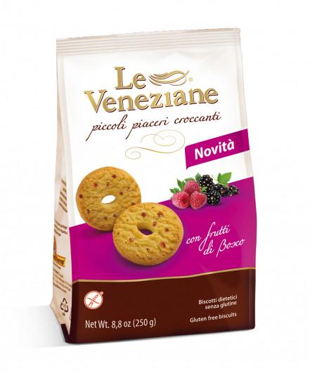 Le Veneziane Biscotti mit Waldfrüchten