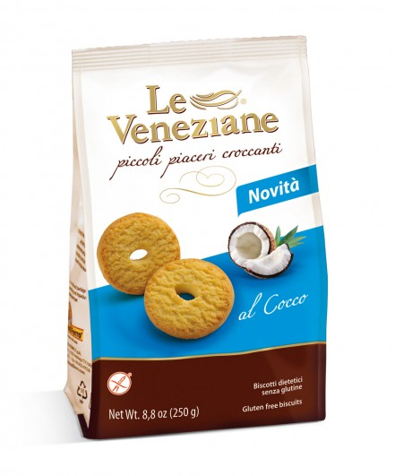 Le Veneziane Biscotti mit Kokos