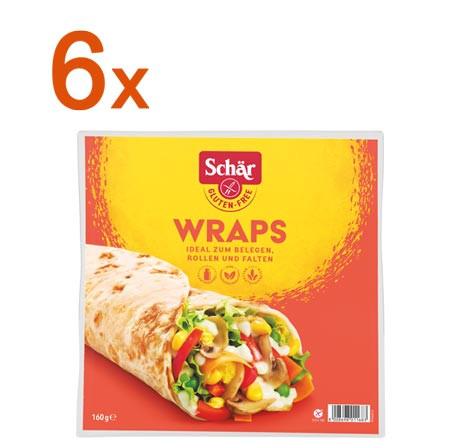 Sparpaket 6x Wraps