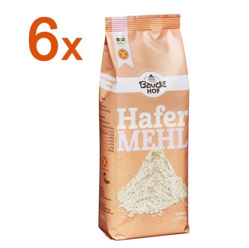 Sparpaket 6 x Hafermehl glutenfrei