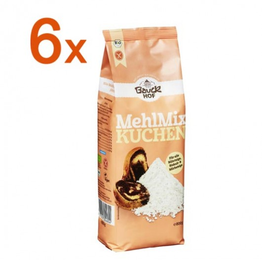 Sparpaket 6 x Mehl Mix Kuchen