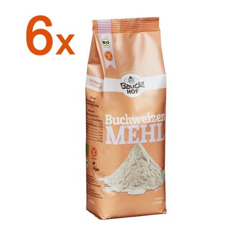 Sparpaket 6 x Buchweizenmehl