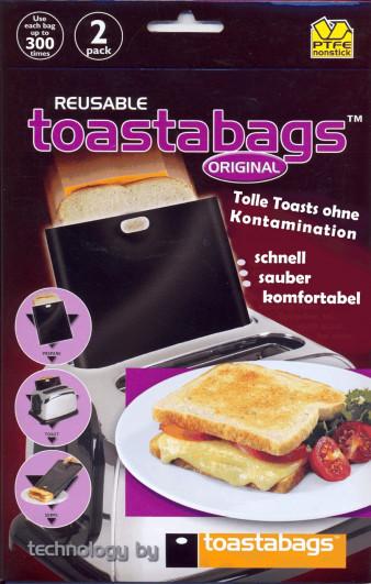 Toastabags black Original 2 Stück