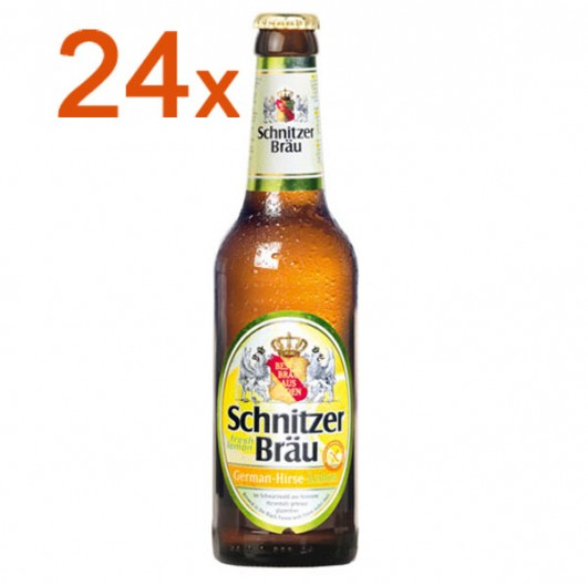 Schnitzer Bräu Hirse Lemon 24 FL.