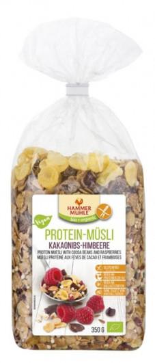 Bio Protein-Müsli Kakaonibs-Himbeere