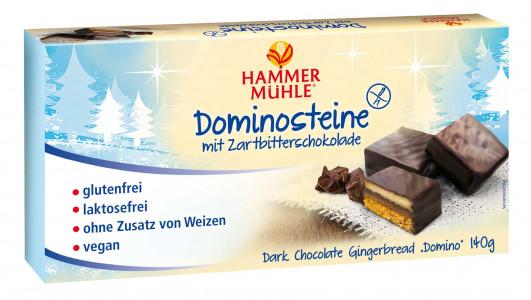 Glutenfreie Dominosteine mit Zartbitterschokolade
