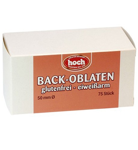 Oblaten glutenfrei 50mm