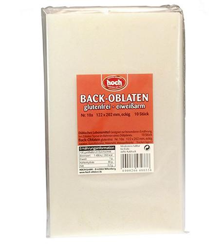 Eckige Back-Oblaten