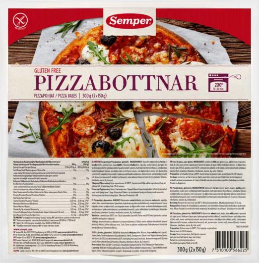 Pizzabottnar Pizzaboden vorgebacken