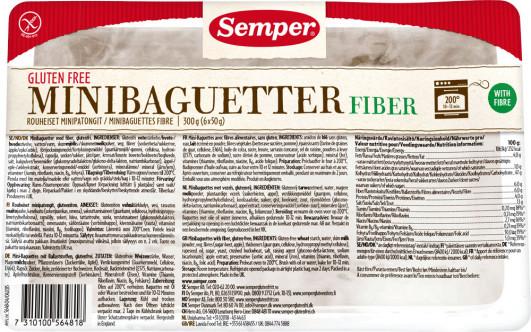 MHD*** 03.11.17 Fiber Mini-Baguetter