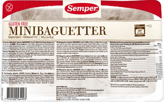 Mini-Baguetter