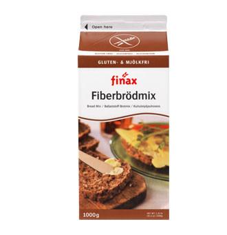 Fiberbrödmix Mehlmix für Brot mit Ballaststoffen