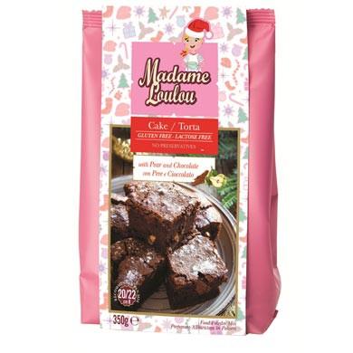 Glutenfreie Backmischung Birnen Schokoladen Kuchen Madame Loulou