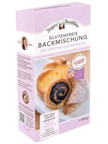 Glutenfreie Backmischung für Hefeteig-Kleingebäcke