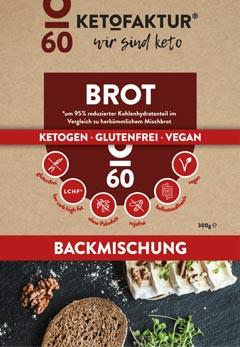 Backmischung Brot No60 Low Carb