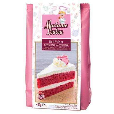 Backmischung für Red Velvet Kuchen
