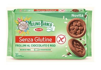 Frollini Kekse mit Schokolade