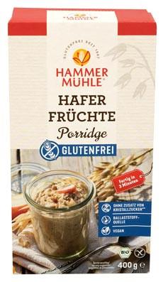 Bio Hafer-Früchte-Porridge