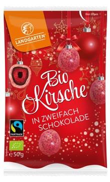 Bio Kirsche in zweifach Schokolade