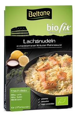Biofix Lachsnudeln