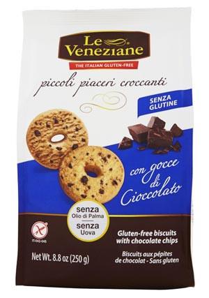 Le Veneziane Biscotti con gocce di Cioccolato