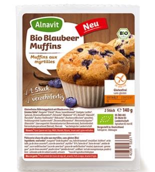 Bio Blaubeer Muffins