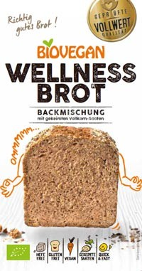 Brotbackmischung Wellness