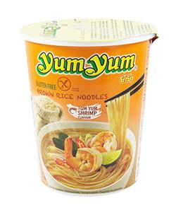 Instant Brown Rice Noodles Shrimp