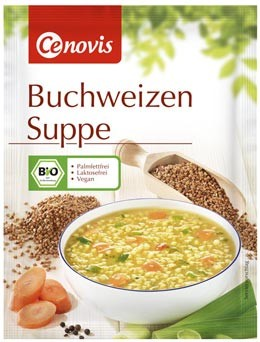 Buchweizen Suppe