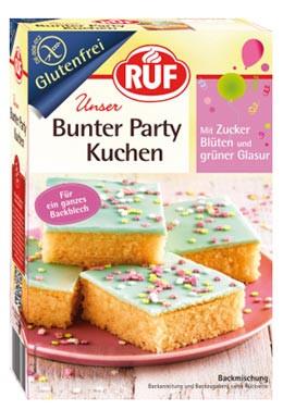 Ruf Bunter Party Kuchen Glutenfreie Backmischung Gunstig Kaufen