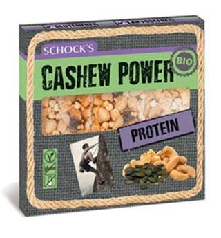 Bio Cashew Power Protein Riegel