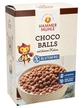Choco Balls mit feinem Kakao