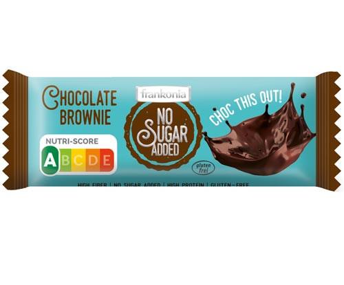 No Sugar Added Chocolate Brownie Riegel