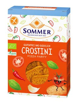 Bio Crostini Pizzaparty