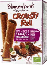 Crousty Roll Kekse Kakao Haselnuss