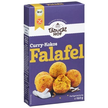 Curry-Kokos Falafel Fertigmischung