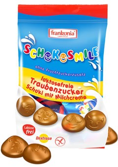 Schokosmile Schoki mit Milchcreme laktosefrei