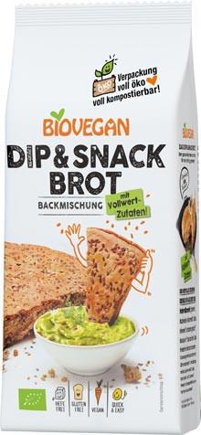 Bio Dip & Snack Brotbackmischung