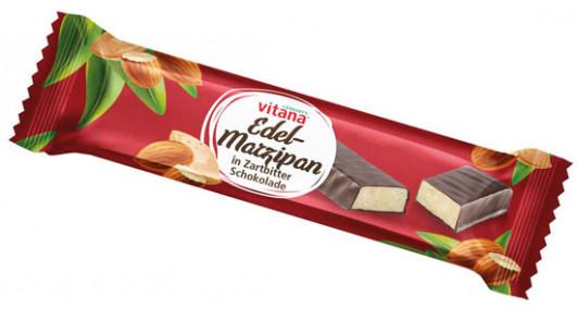 Edel-Marzipan in Zartbitterschokolade