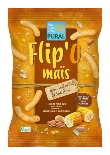 Flip O Maisflips mit Erdnüssen