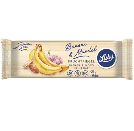 Fruchtriegel Banane-Mandel