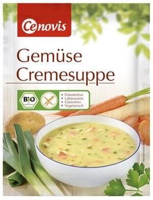 Gemüse Cremesuppe