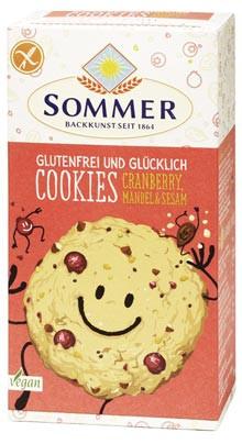Bio Cookies Cranberry, Mandel & Sesam