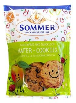 MHD*** 26.7.19 Bio Hafer Cookies Apfel & Sauerkirsch