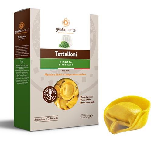 Glutenfreie Tortelloni mit Ricotta & Spinatfüllung